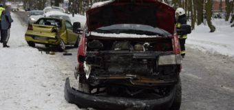 Wypadek samochodowy na Ledóchowskiego
