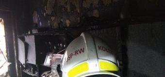 Wigilijny pożar mieszkania