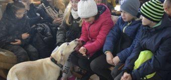 Młodzież z Legionowa poznała psy ratownicze